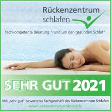 Bettwerk.de ist Mitglied im Rückenzentrum Schlafen.