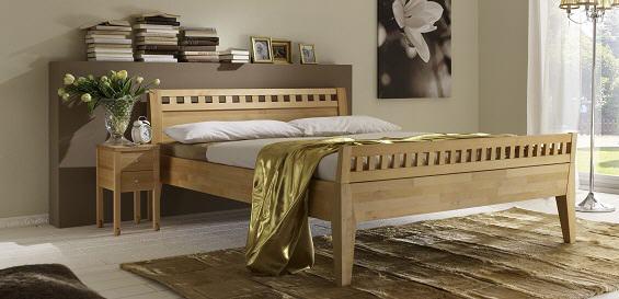 m h massivholz comfortbett diana ii. Black Bedroom Furniture Sets. Home Design Ideas